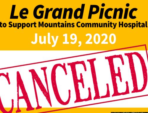 Le Grand Picnic Canceled