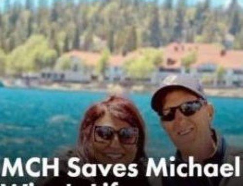 MCH Saves Michael Winn's Life